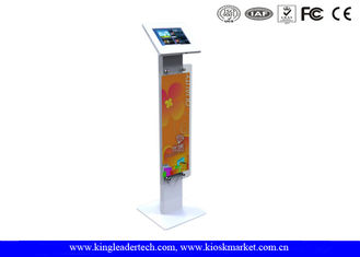 10.1 Inch Floor Stand Tablet Kiosk Mount With Key Locking For Advertising