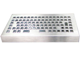 Stand Alone Metal Industrial Desktop Keyboard With Customizable Language Layout
